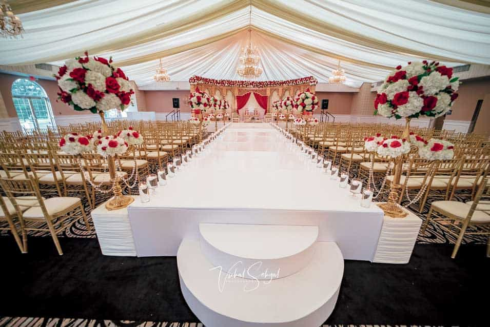 Mandap Ceremony decor cherry hill