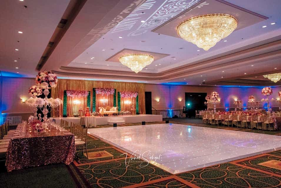 moroccan theme decor stage