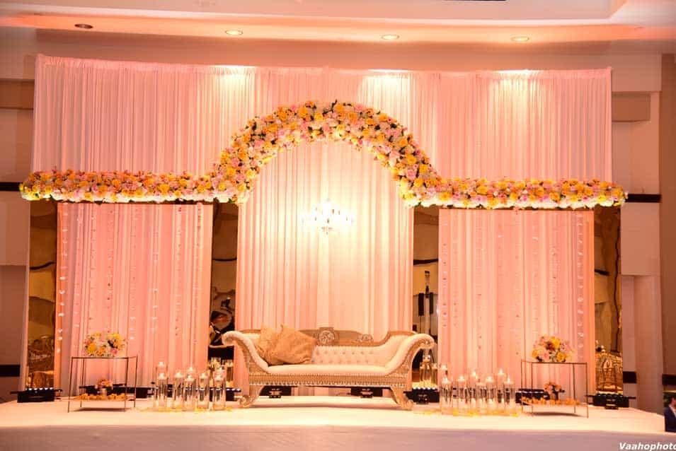 Reception Stage at Hyatt Regency