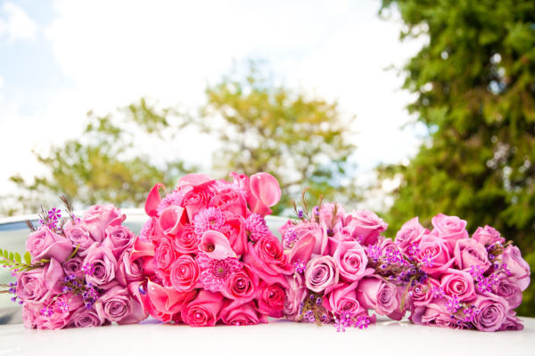 Colorful-Pink-Roses-Bouquets