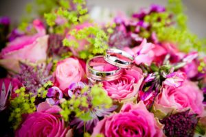 Wedding Flowers Rings