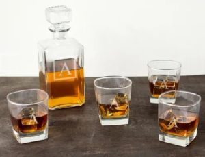 Cathy's Concepts Collection Personalized Decanter Millennial Wedding Gift