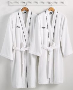 Hotel Collection His of Hers Robe Millennial Gift Idea