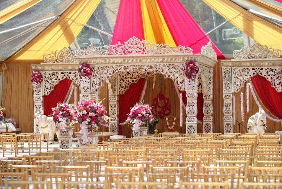 Indian Wedding Mandap Decor