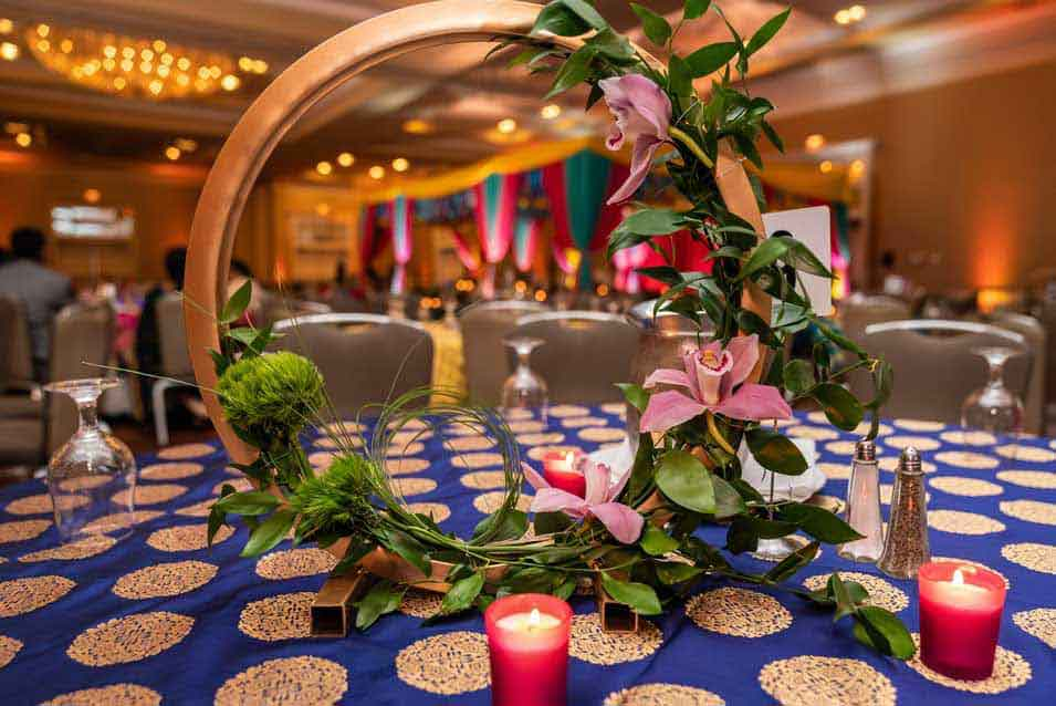 Low Centerpiece Decor at Hyatt Regency