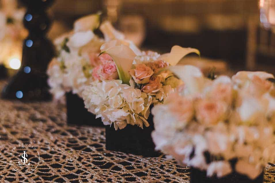 Low Centerpieces at Hyatt Regency
