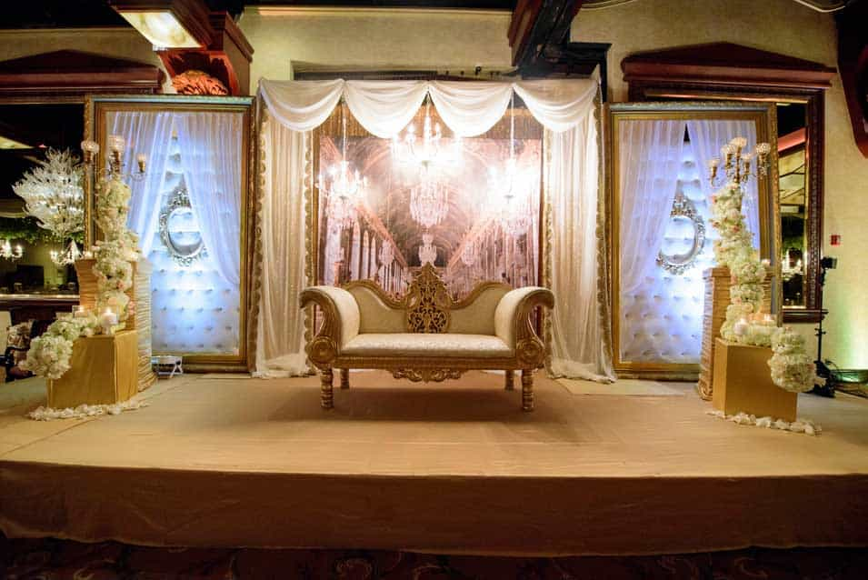 Reception Decor Crest hallow country club
