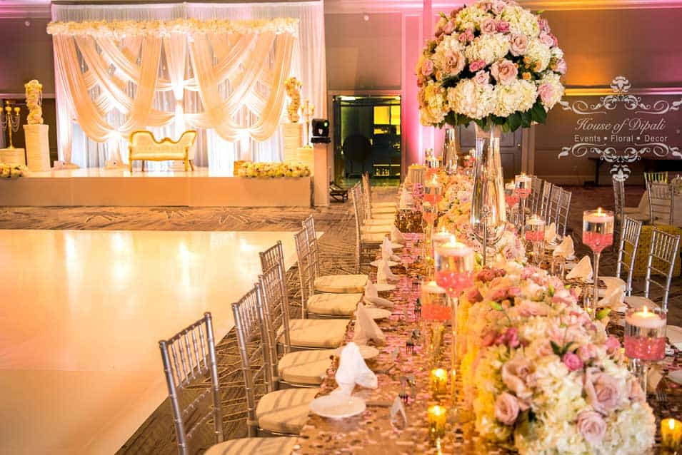 Reception Decor Marriot Sanibel Florida