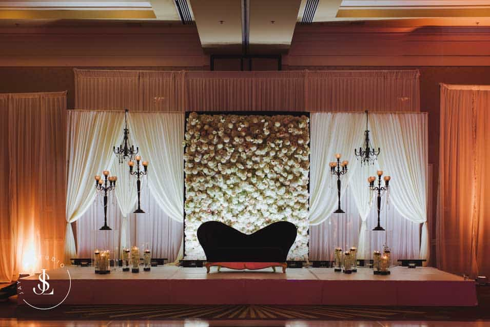 Reception stage hyatt regency
