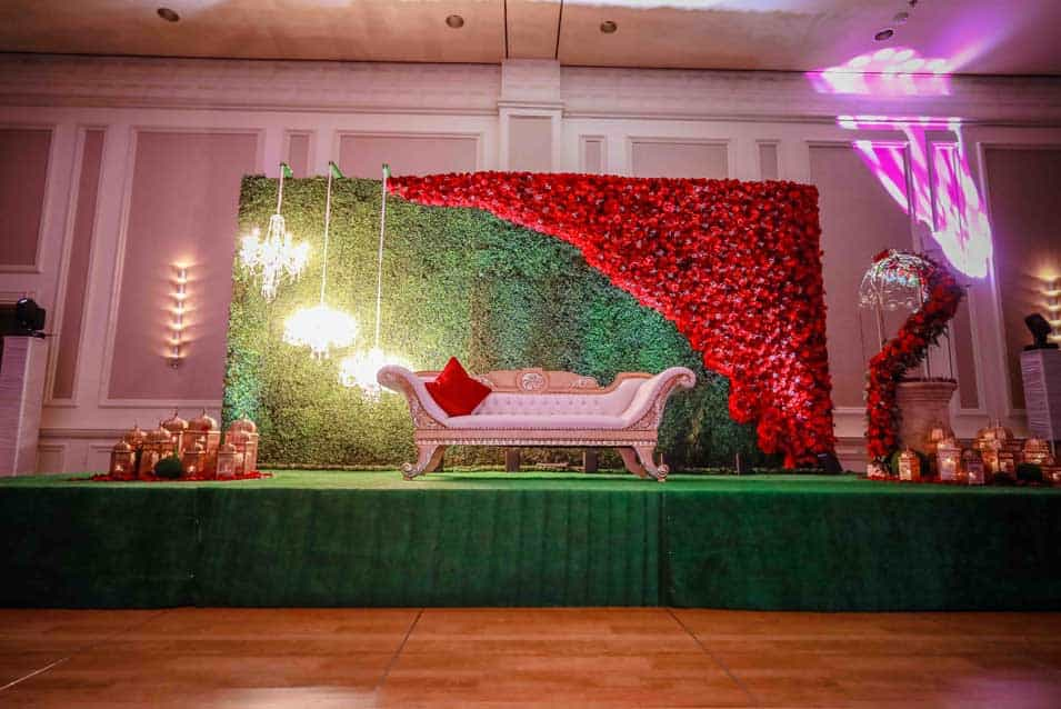 Sangeet Decor At Marriot Maimi